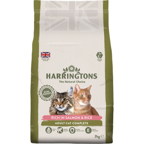 Harringtons Complete Salmon With Rice Adult Cat Food