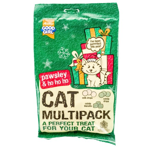 Good Girl Christmas Cat Multipack Treats