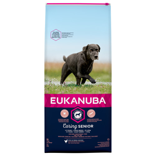 Eukanuba Caring Senior Chicken Large Breed Senior Dog Food