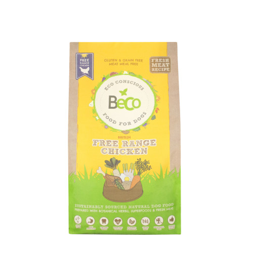 Beco Free Range Chicken Dry Complete Dog Food
