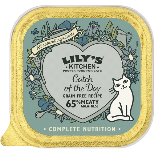Lilys Kitchen Catch Of The Day Complete Wet Cat Food