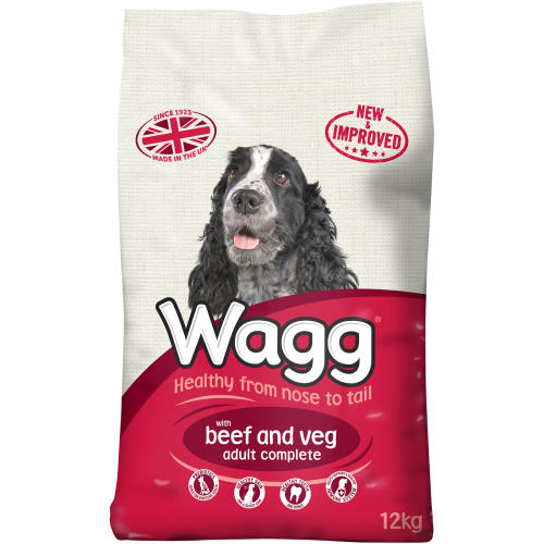 Wagg Complete Beef & Vegetable Adult Dog Food