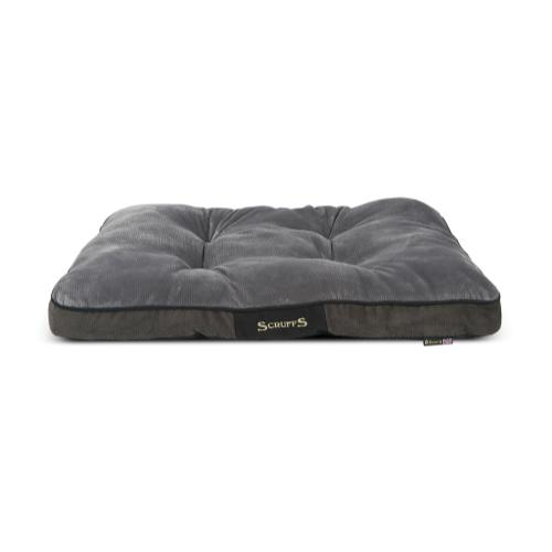 Scruffs Chester Mattress In Graphite Dog Bed