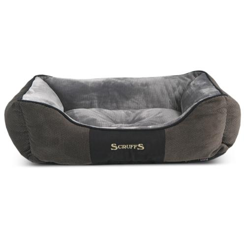 Scruffs Chester Box Dog Bed In Graphite