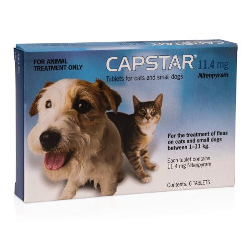 Capstar Flea Tablets For Cats & Small Dogs