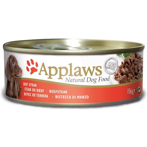 Applaws Beef Steak Tins Wet Dog Food