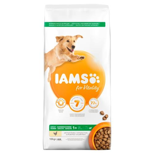 Iams For Vitality Chicken Large Breed Adult Dog Food