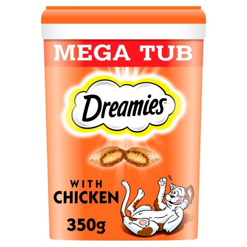Dreamies Mega Tub Of Cat Treats