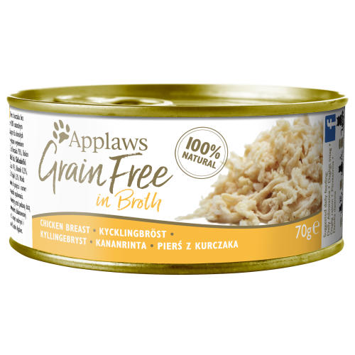 Applaws Chicken Breast In Broth Grain Free Wet Adult Cat Food