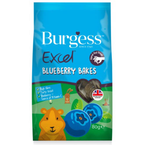 Burgess Excel Blueberry Bakes Small Pet Treats