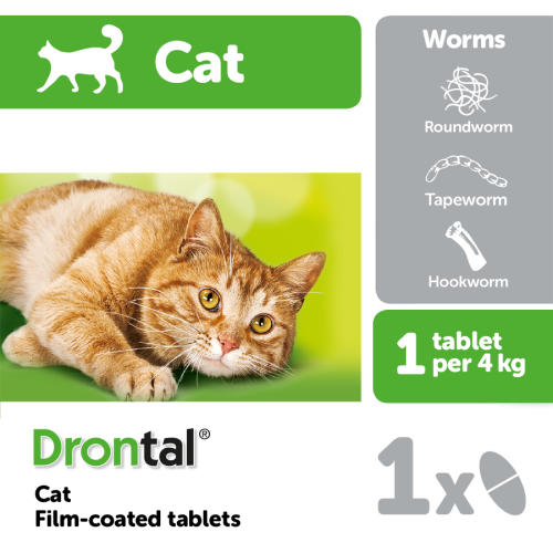 Drontal Cat Worming Tablets